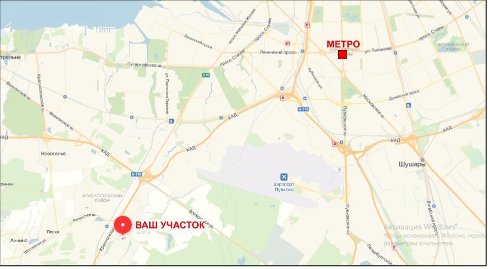 Участок на продажу по адресу Россия, Санкт-Петербург, Санкт-Петербург, Центр